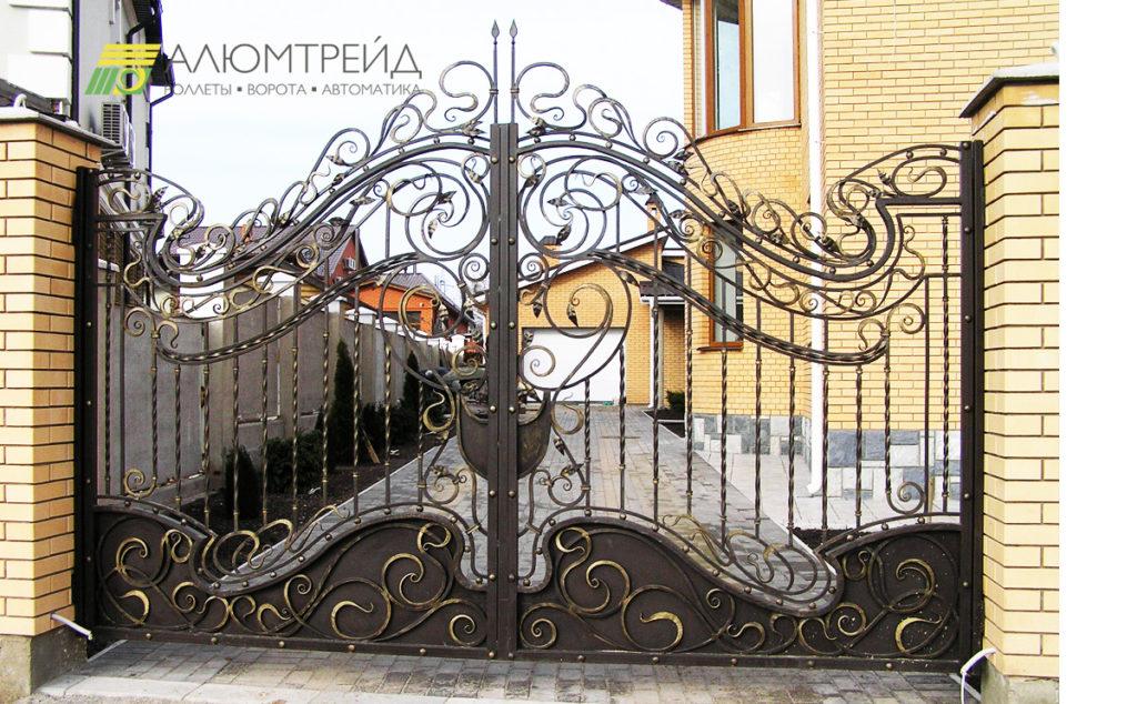 ворота кованые цена