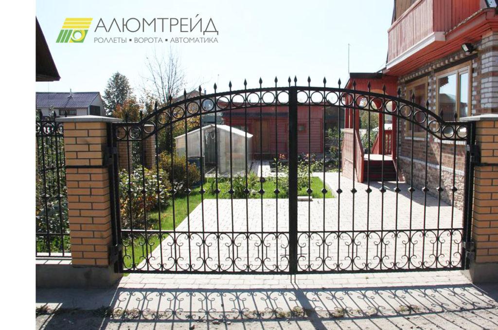 ворота из ковки АЛЮМТРЕЙД