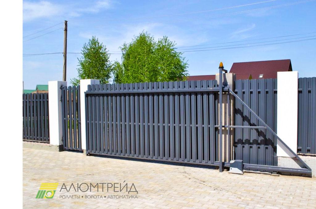 ворота въездные купитьв днепропетровске