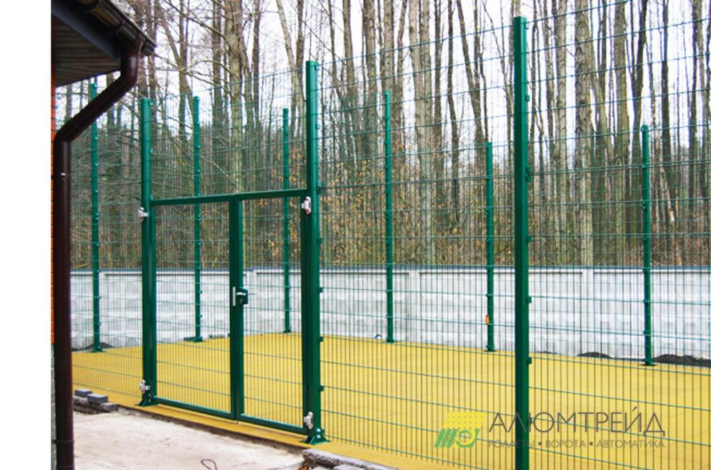 забор для стадиона
