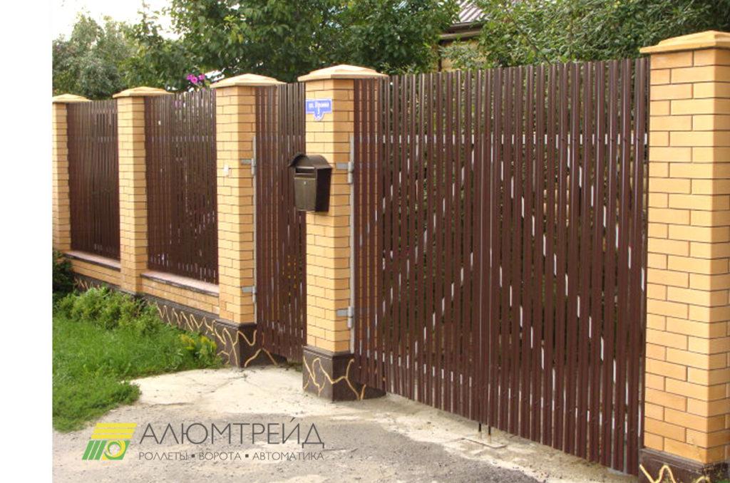 купить ворота из штакетника в днепропетровске