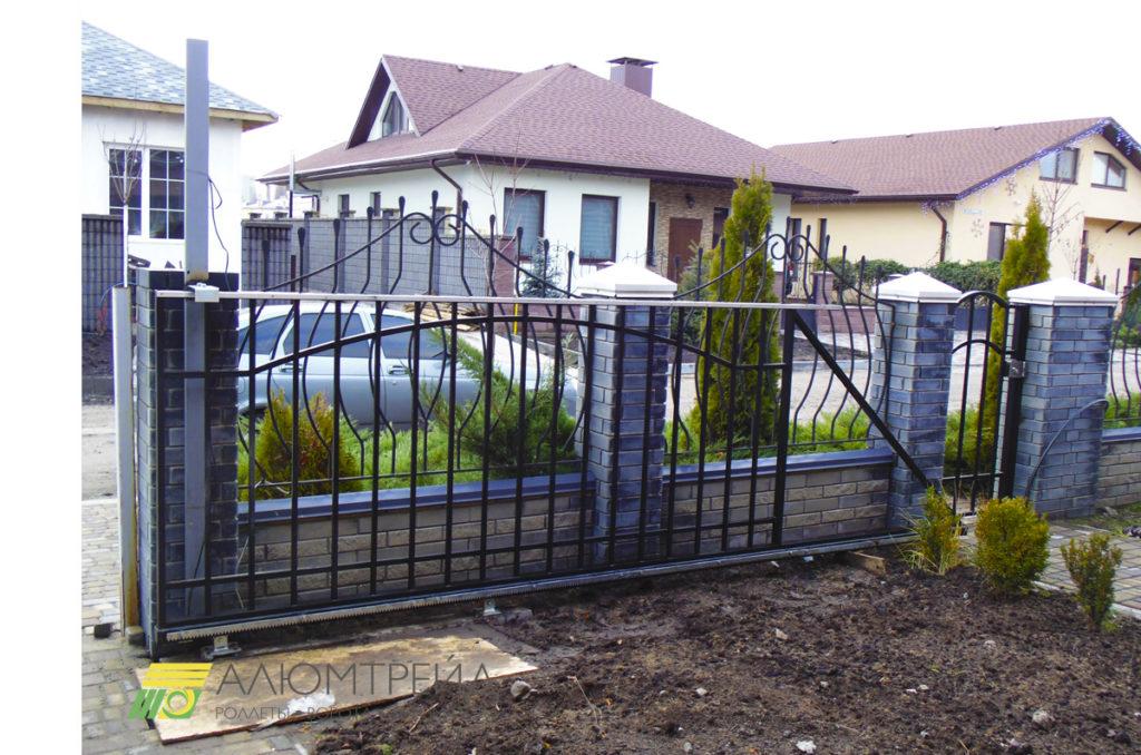 кованные ворота купить днепропетровск