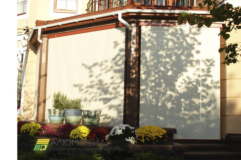 защита дома от солнца