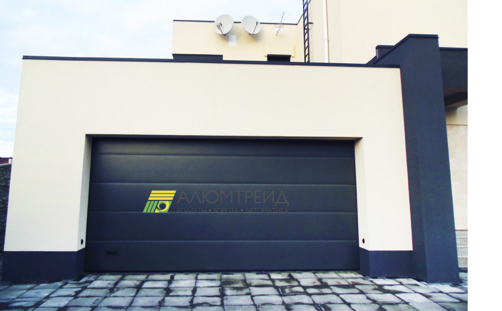 ворота для гаража алютех